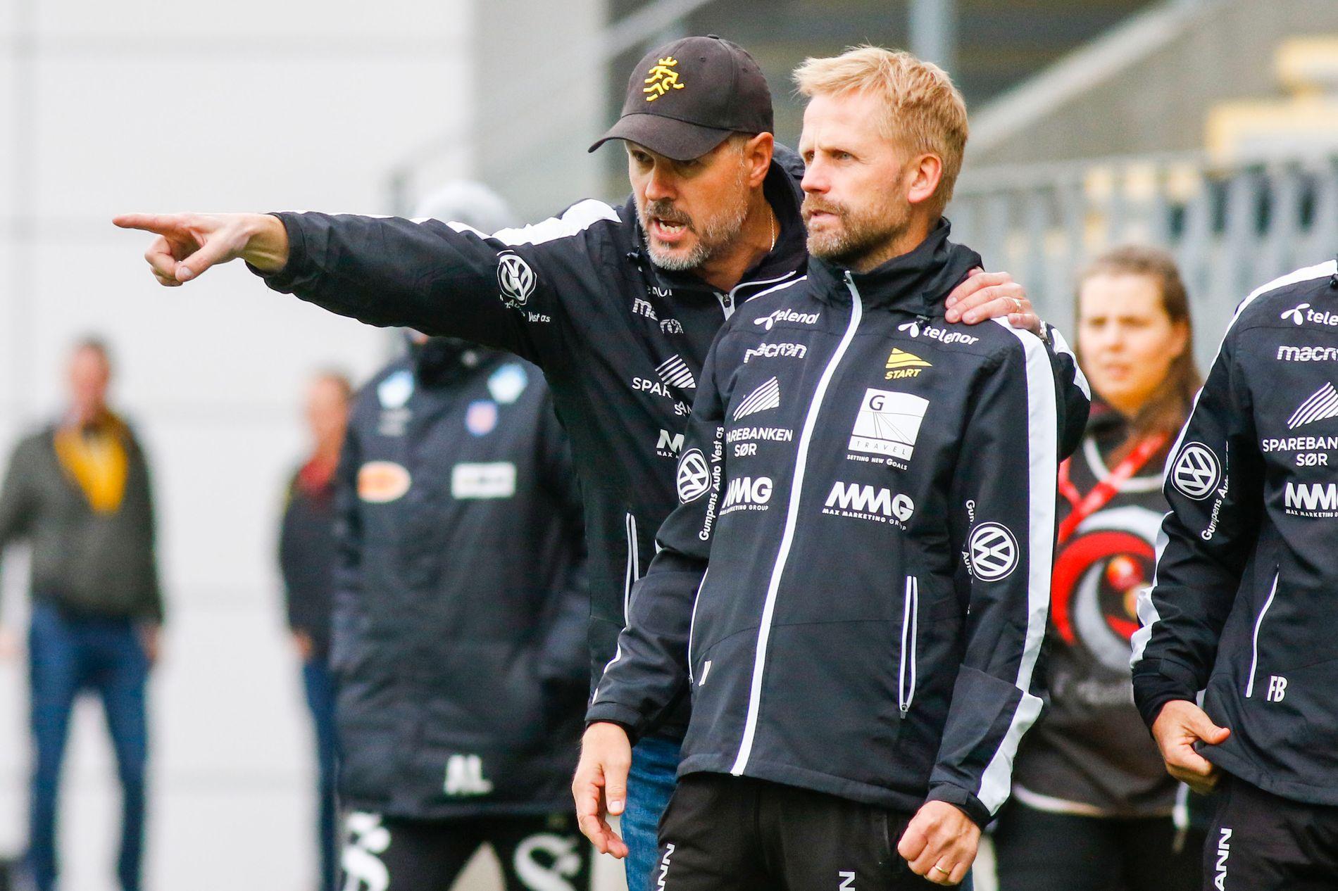 TAR OVER: Joey Hardarson, som var assistent under Kjetil Rekdal, leder Start i tiden fremover.