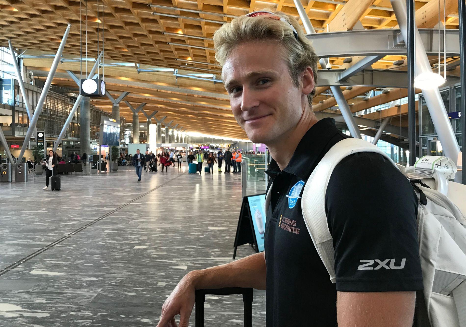 UNGARN NESTE: Eivind Vold dro til VM-byen Szeged onsdag morgen. Kommende helg padler han for OL-plass og VM-gull.