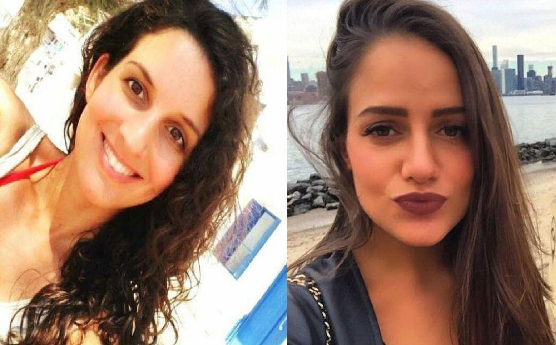 SAVNET: Familiene til Aline Bastin (til venstre) og Sascha Pinczowski søker desperat etter dem på Facebook. Kvinnene er blant de mange som blir etterlyst med bilder i sosiale medier.