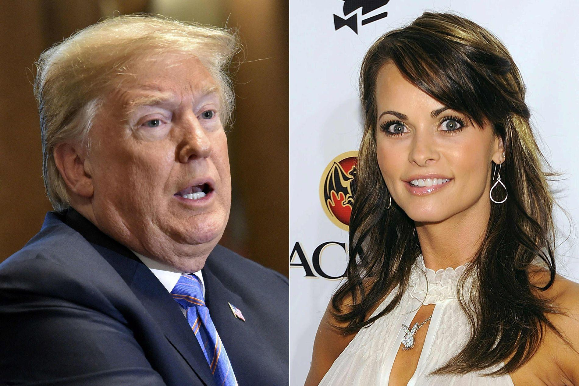 AFFÆRE: USAs president Donald Trump skal ha hatt et forhold til modellen Karen McDougal.