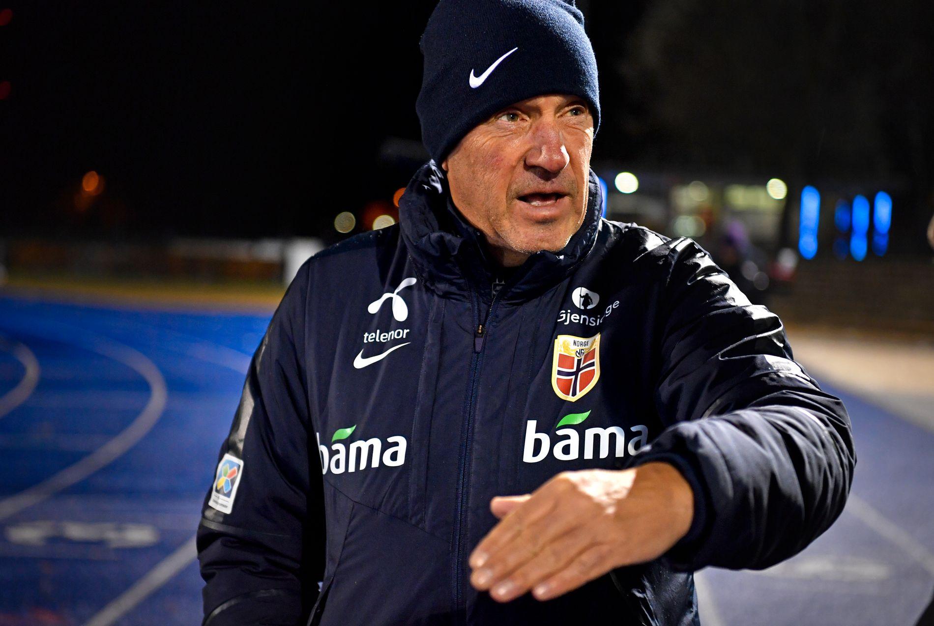 PÅ TOMTEJAKT: Nils Johan Semb bekrefter at NFF leter etter mulige områder i Oslo hvor A-landslaget kan få sin egen treningsbane.