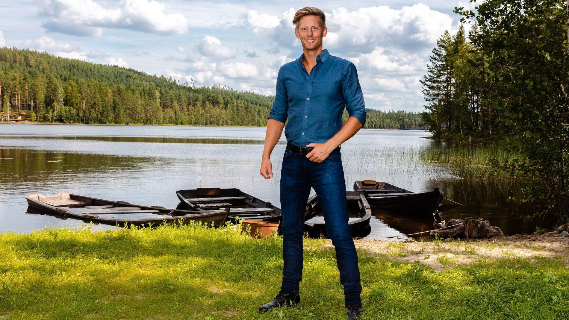 MISTER SEERE: Gaute Grøtta Grav og «Farmen» mistet over 100.000 seere fra tirsdag til søndag.