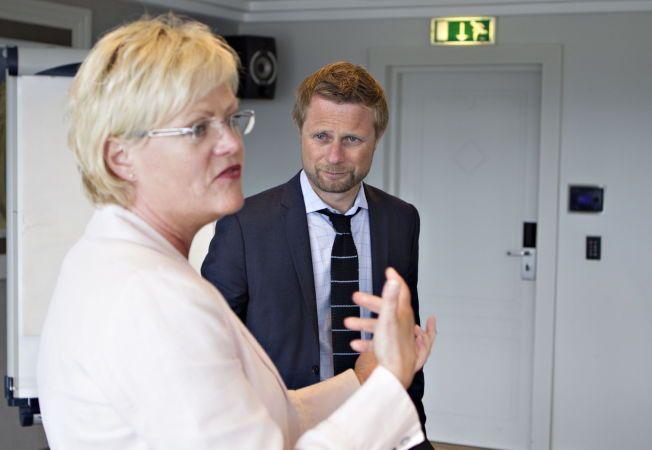 LIBERALISERING: Bioteknologirådets leder Kristin Halvorsen og helseminister Bent Høie.