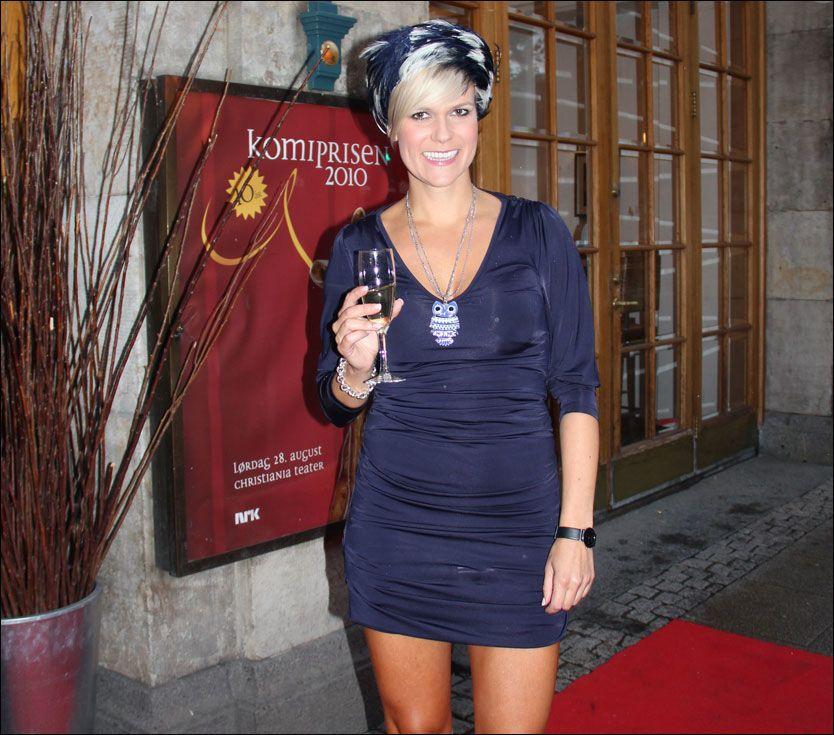 PRISUTDELER: Sigrid Bonde Tusvik skal dele ut prisen for årets gjennombrudd under komiprisen- Foto: Øystein David Johansen