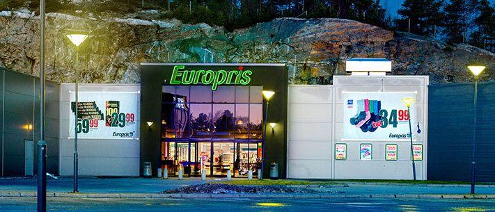 Europris Blar Opp 190 Millioner For Svensk Partnerskap E24