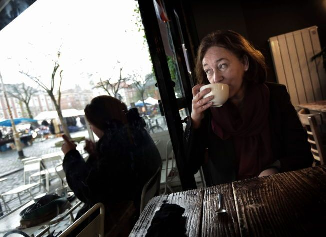 AMBASSADØREN: Ingrid Schulerud (55) på plass i Brüssel - hvor mannen allerede er NATO-sjef. Bildet er tatt under et større VG Helg-intervju i desember.