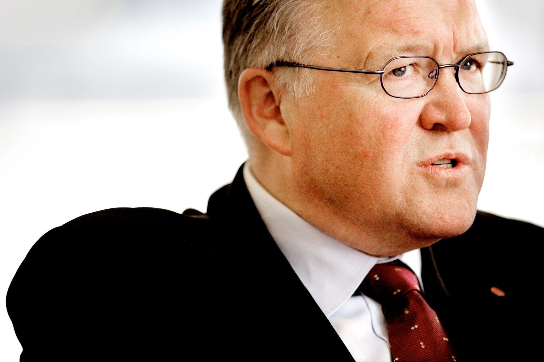 RINGREV: Göran Persson, her fotografert i forbindelse med et VG-intervju rett etter at han gikk av som statsminister, mener de svenske sosialdemokratene har grunn til å ta selvkritikk.