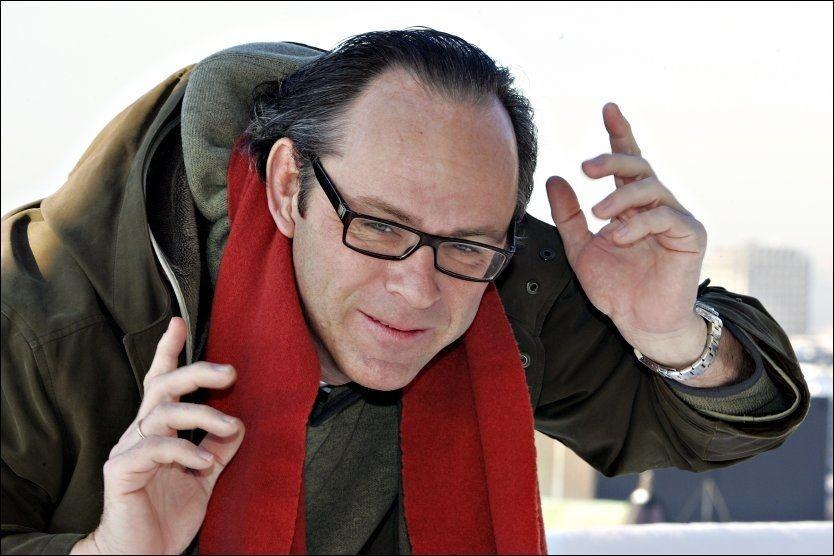 NY «CÆSAR»-TOPP: Arne Berggren (51) blir såkalt «showrunner» for «Hotel Cæsar». Foto: KNUT ERIK KNUDSEN