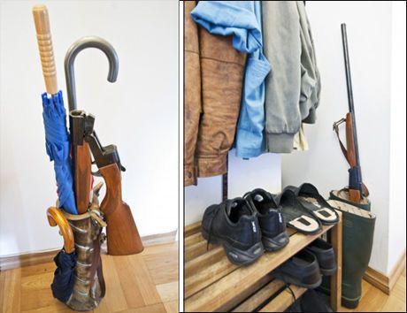 oppbevaring av våpen
