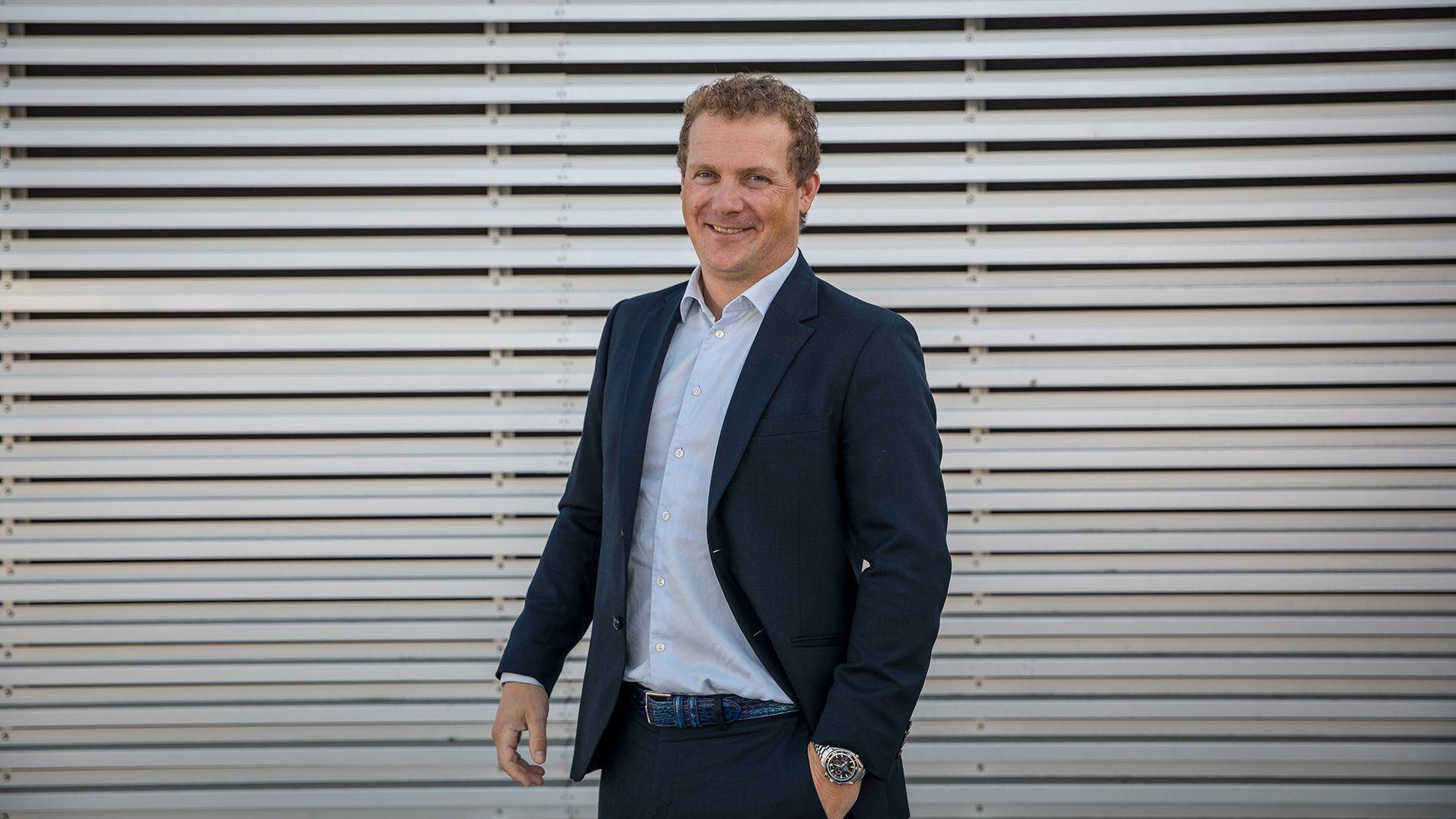 SER MULIGHETER: Daglig leder Børge Leknes i Hudya Group tror at det nye selskapet kan vokse stort i Norden.