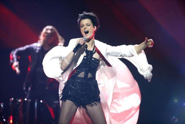 Melodi Grand Prix, finale. Generalprøve . Melodi 10: Alexandra Joner - 'Cinderella» Foto:TROND SOLBERG/VG