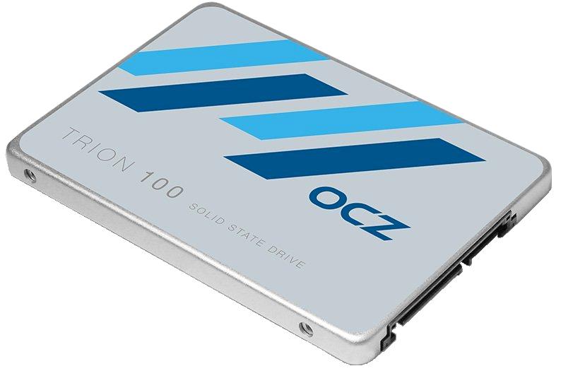 HOLDER UT: Trion 100 er OCZ' nyeste SSD for forbrukerne. Den har lav pris, men ytelsen, påliteligheten og utholdenheten er høy.