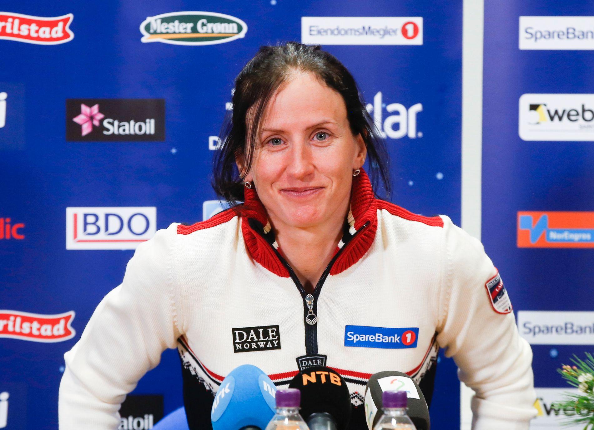 FORKJØLET: Marit Bjørgen (36) er usikker på om hun er i stand til å stille til start på Beitostølen i morgen, lørdag.