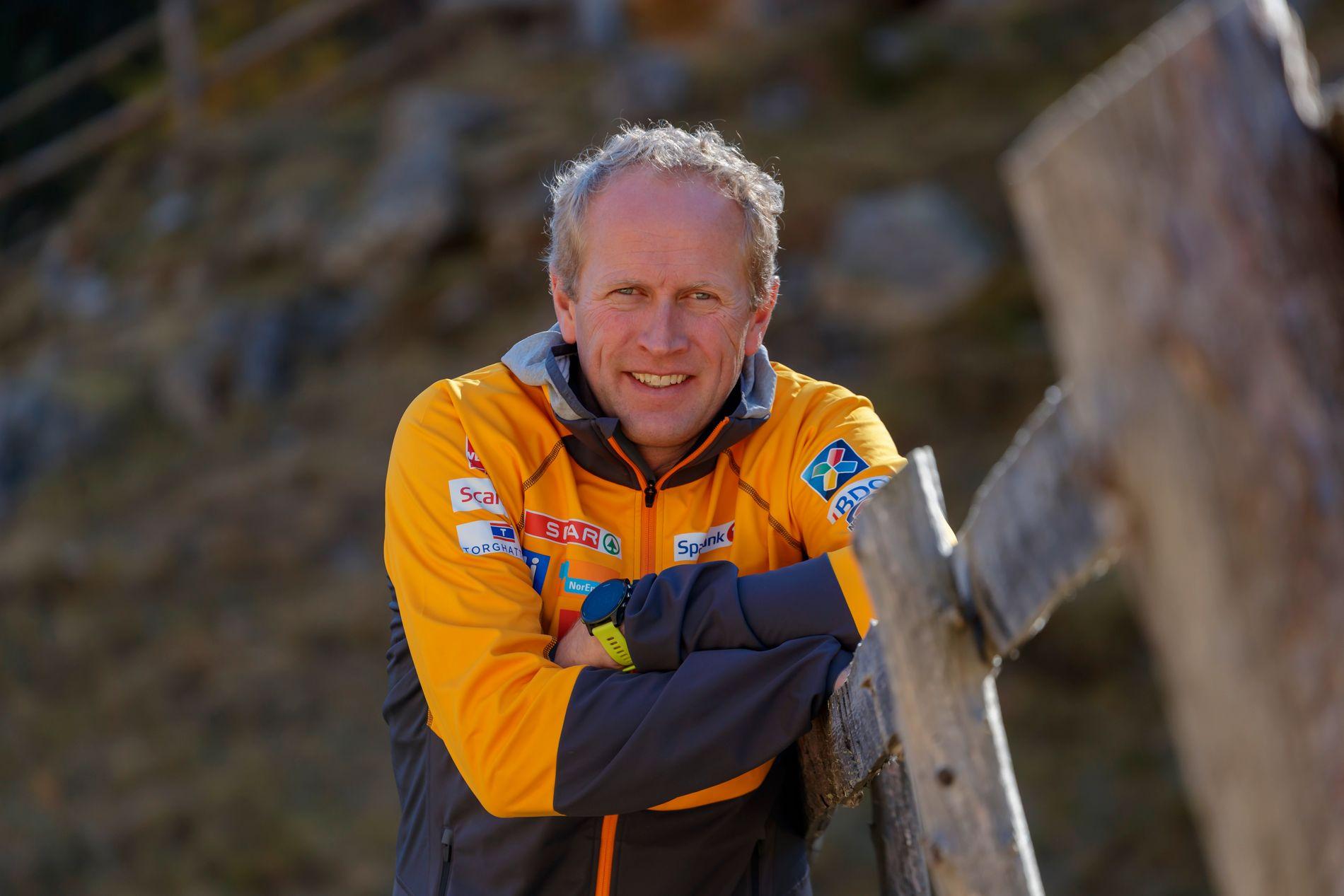 LANGRENNSJEF: Espen Bjervig.
