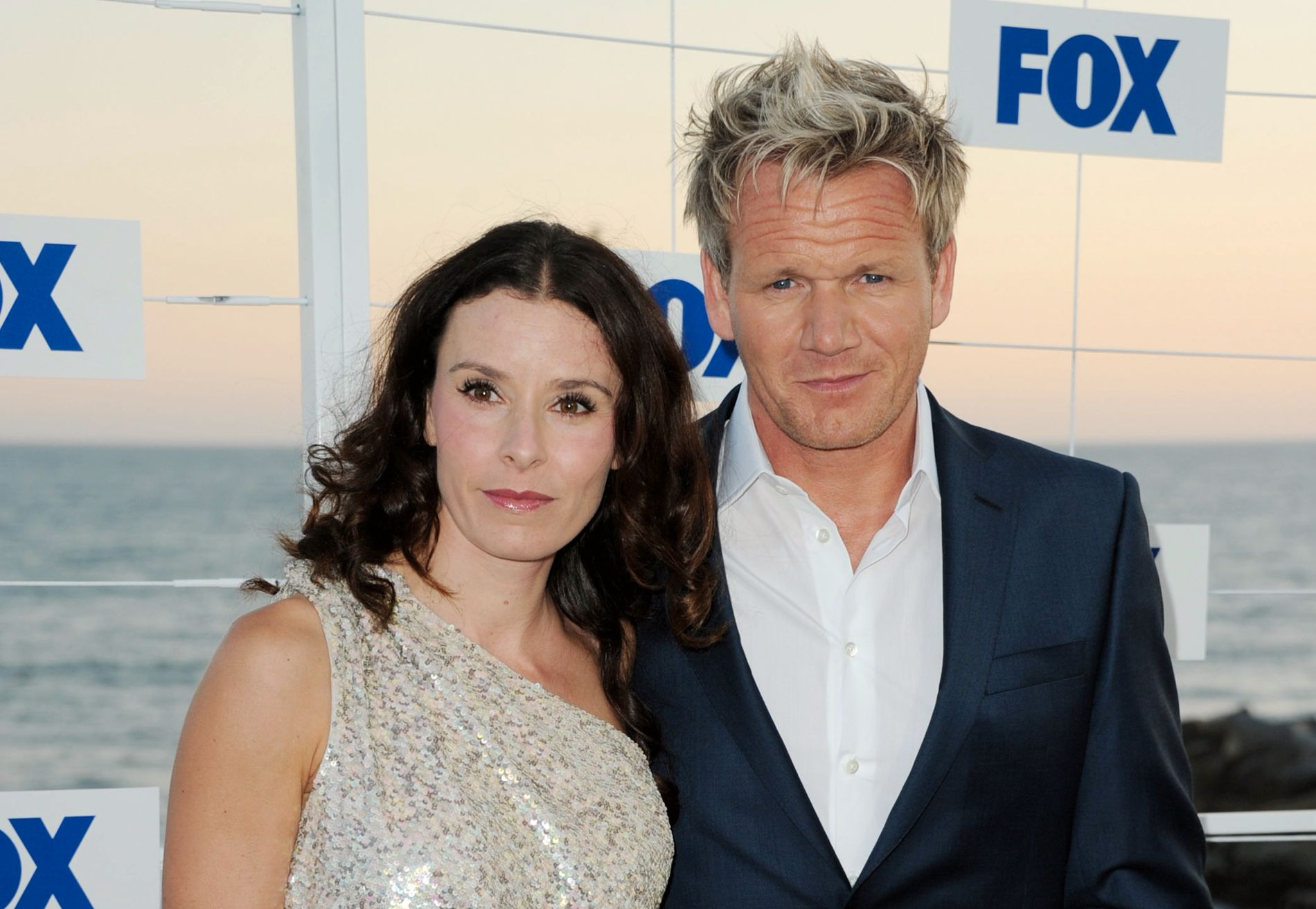 KJENDISKOKK: Gordon og kona Tana Ramsay på en Fox-fest i California i 2011.