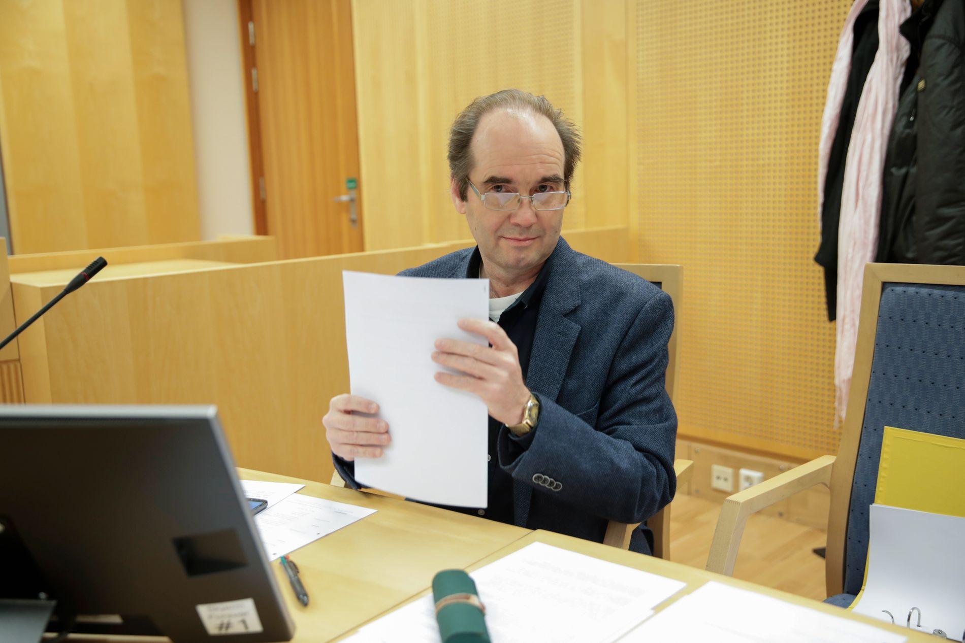 Oslo 20190909. Kasserer Per-Ivar Bergo i Folkeaksjonen nei til mer bompenger Oslo mener FNB nasjonalt har ekskludert partimedlemmer uten å ha hjemmel til det.