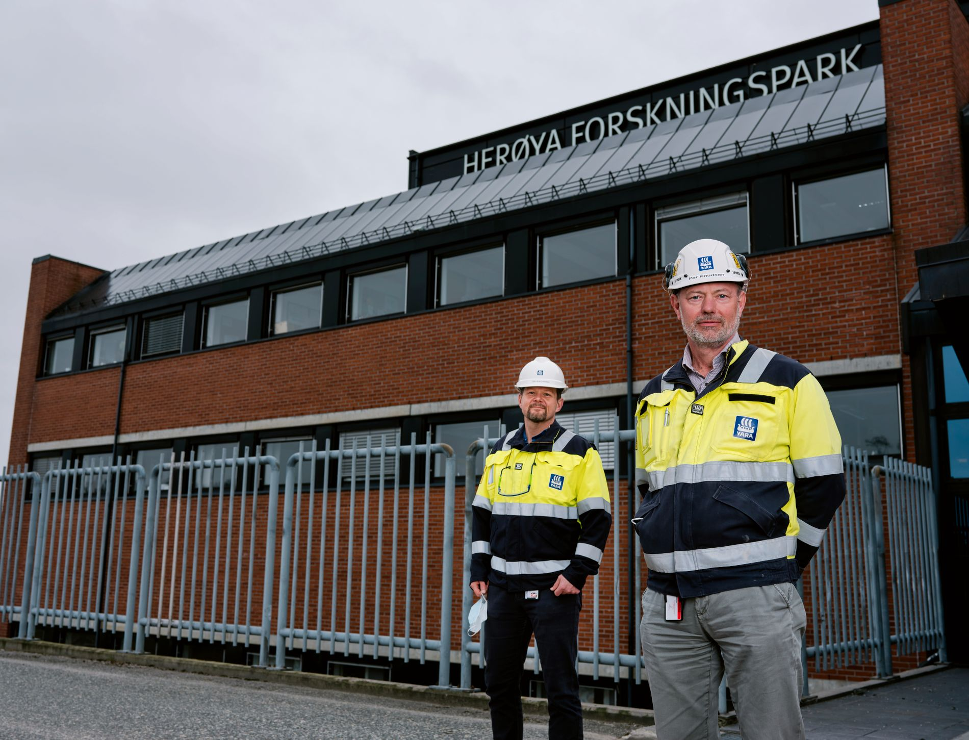 ARBEIDSPLASSER: Fullelektrifisering av ammoniakkfabrikken vil kunne gi mange nye, gode år for prosessindustri og arbeidsplasser i Grenland.