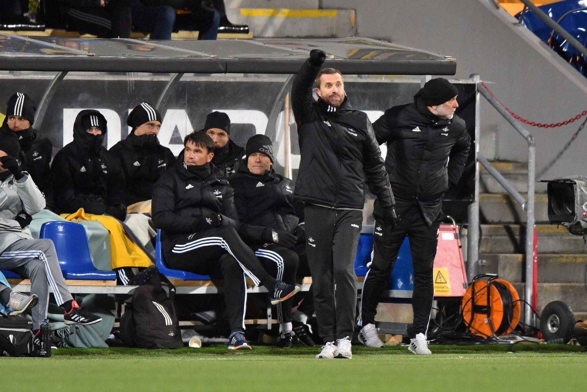 SIGNERINGSDAG?: Joacim Jonsson i Eurosport og Ole Martin Årst er uenige i om Rosenborg bør hente spillere på Deadline Day.