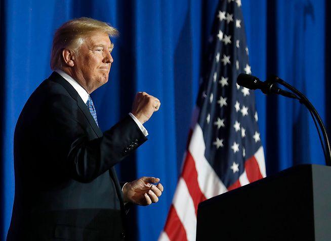 PERSONLIGHETSTYPE: – De få gangene Trump agerer «vanlig» politiker, virker han ofte ganske ukomfortabel. Det er når han kan snakke om seg selv – uten manus – at han «briljerer», skriver Bård Larsen.
