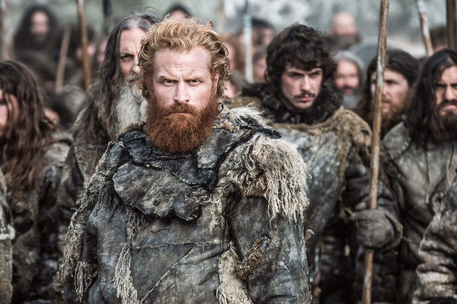 NORSK INNSLAG: Kristofer Hivju som Tormund Giantsbane i sesong 6 av «Game of Thrones».