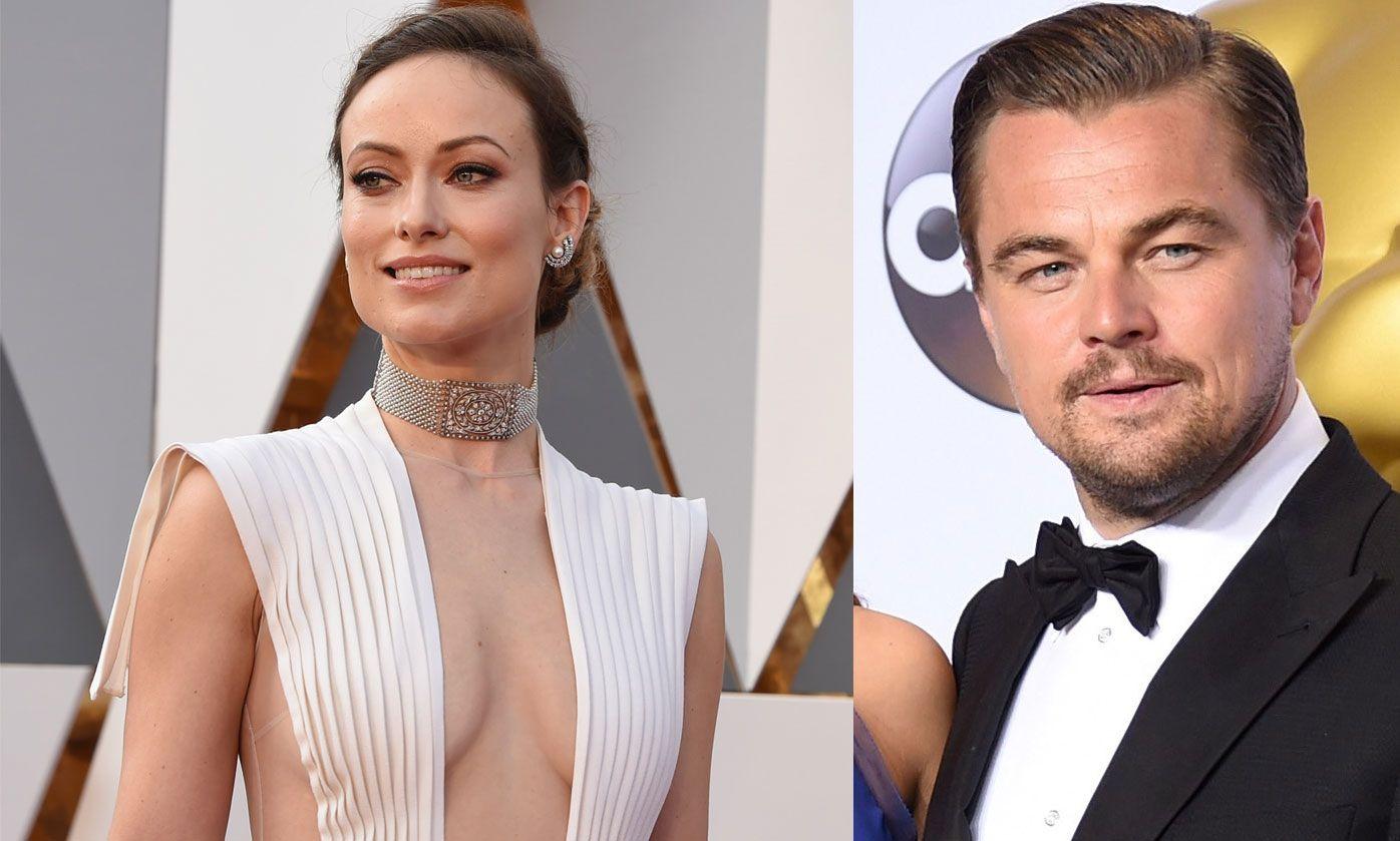 PÅ STJERNEGALLA: Olivia Wilde og Leonardo DiCaprio avbildet på årets Oscar-utdeling i Los Angeles, hvor Leo vant sin første statuett.