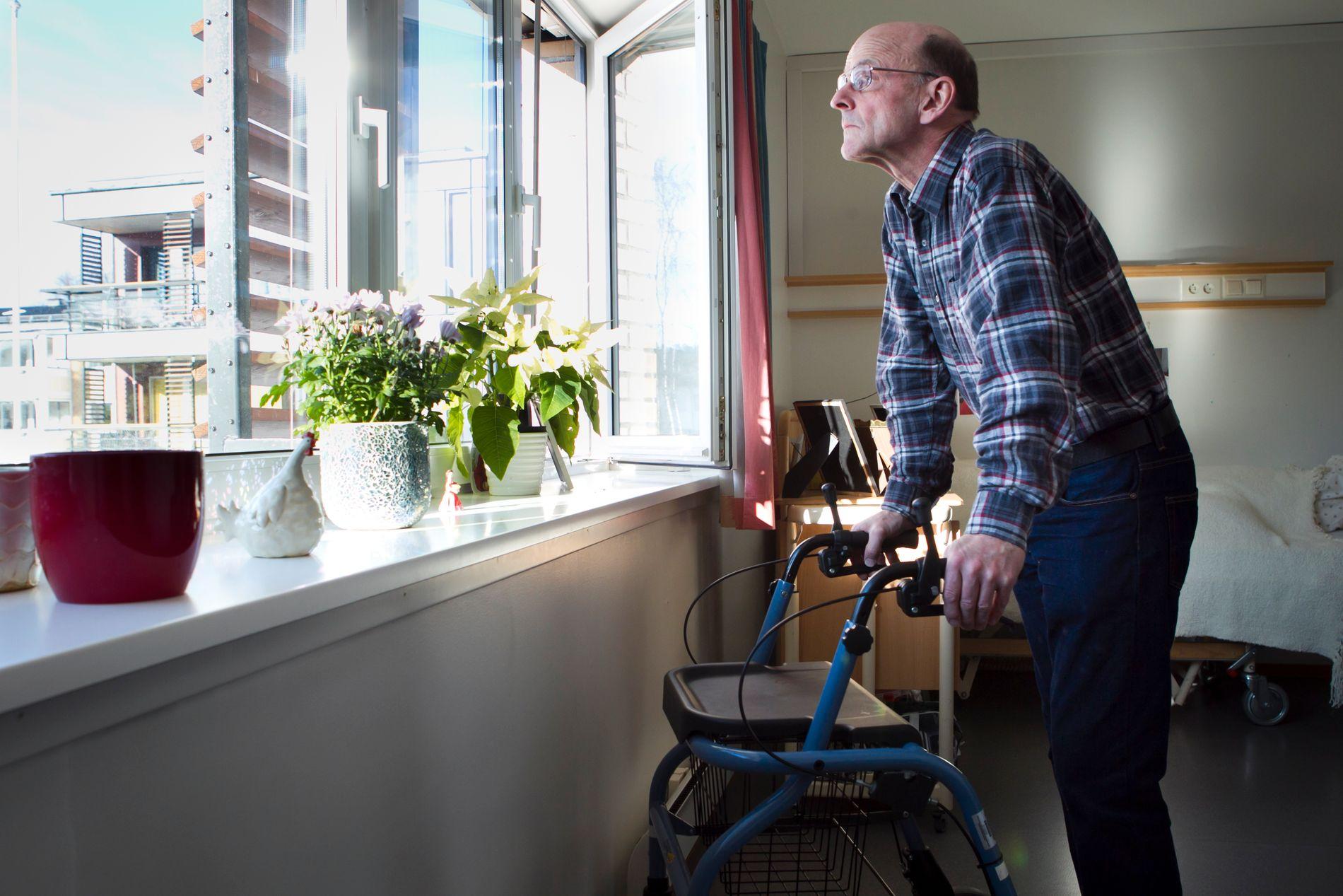 ELDREBOOM: En større andel nordmenn blir eldre.