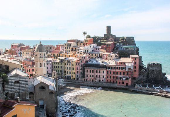 Cinque Terre - Italias minste nasjonalpark