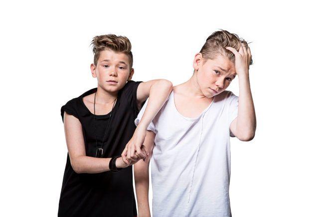 HJERTEKNUSERE: Popduoen Marcus og Martinus ble kjent etter at de vant Melodi Grand Prix Junior i 2012. FOTO: SONY MUSIC