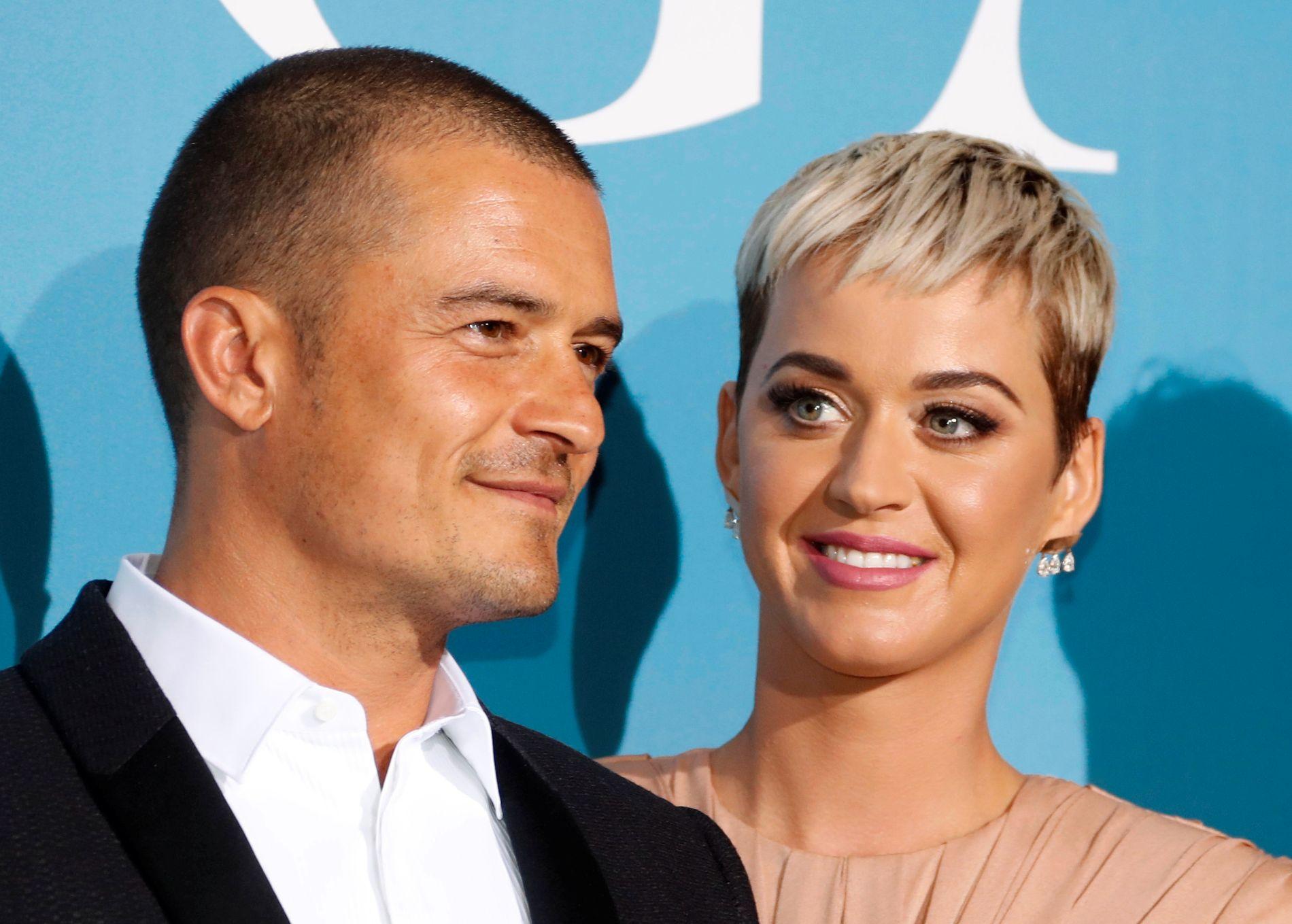 VIL IKKE DELE: Katy Perry ville ikke dele kjæresten Orlando Bloom med andre. Her er de avbildet under en galla i Monte Carlo i september i år.