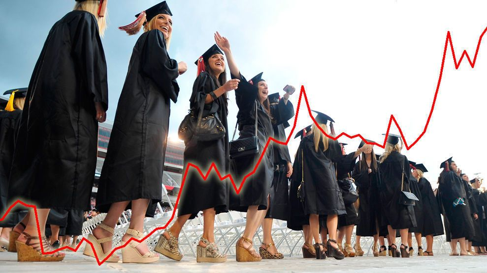 DYRERE: Kronen gjør retrett og lommeboken til norske utenlandsstudenter blir tynnere. Grafen viser kronen mot euro de siste tre månedene. Bildet er et illustrasjonsfoto.