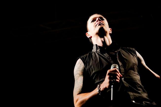 PÅ ØYAFESTIVALEN: Vokalist i Satyricon, Sigurd Wongraven. Her under en konsert på Øyafestivalen i Oslo i 2009.