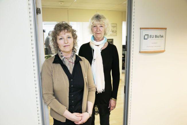 DAMENE BAK EU BIOTEK: Søstrene Linda og Lis Rahbek står bak de omstridte blodtestene i Norge.