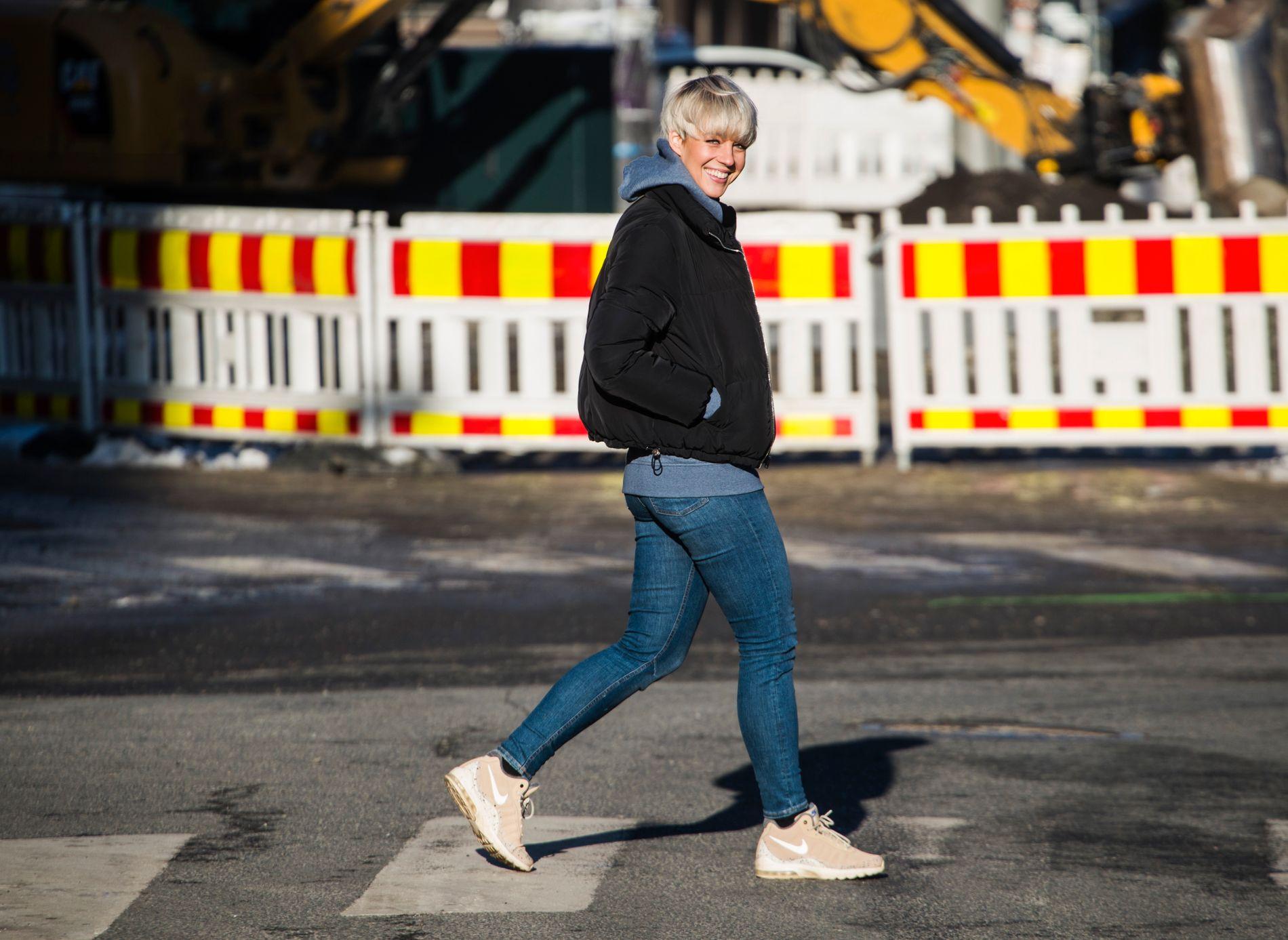KLIPPET HÅRET: Nicoline Berg Kaasin (28) har klippet håret kort og får kommentarer på at hun har blitt tøffere, nå er hun klar for å lage et skikkelig show på MGP-scenen.