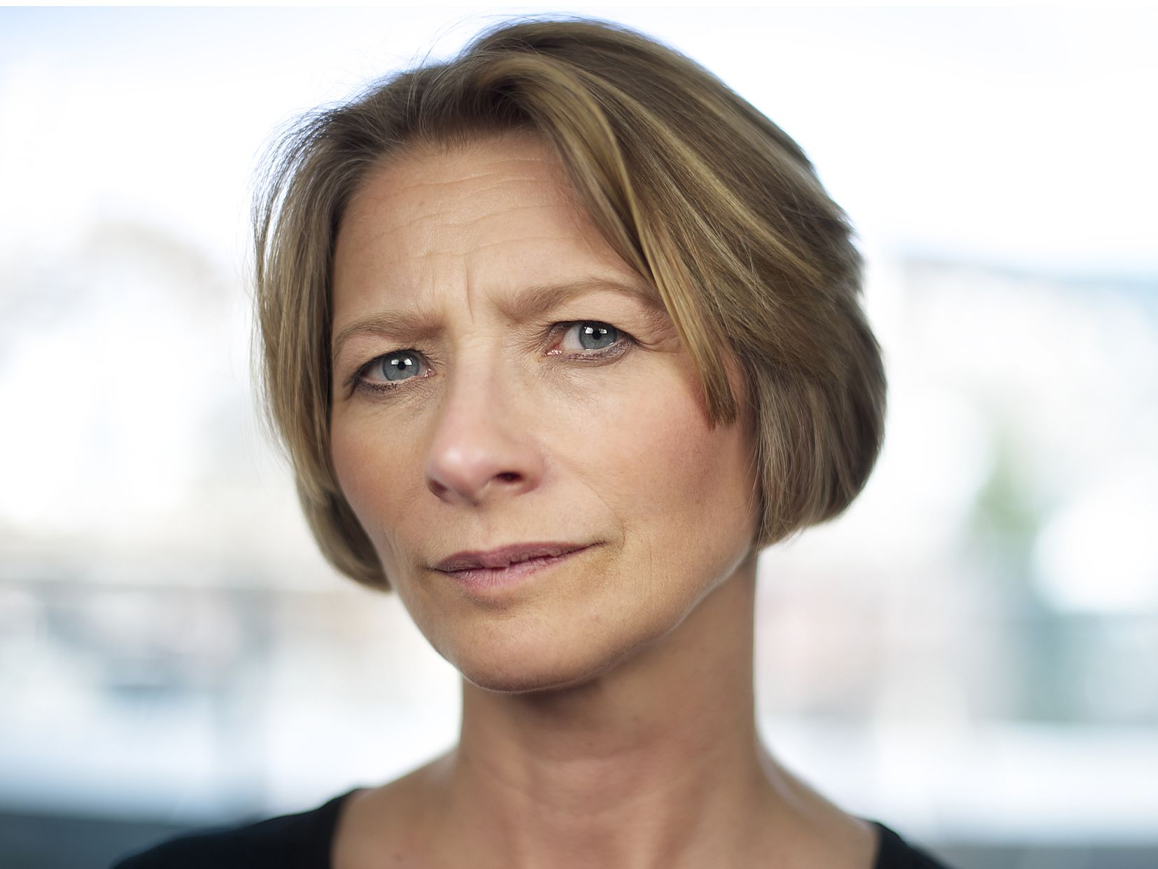 FORNØYD: Forbrukerombud Gry Nergård.