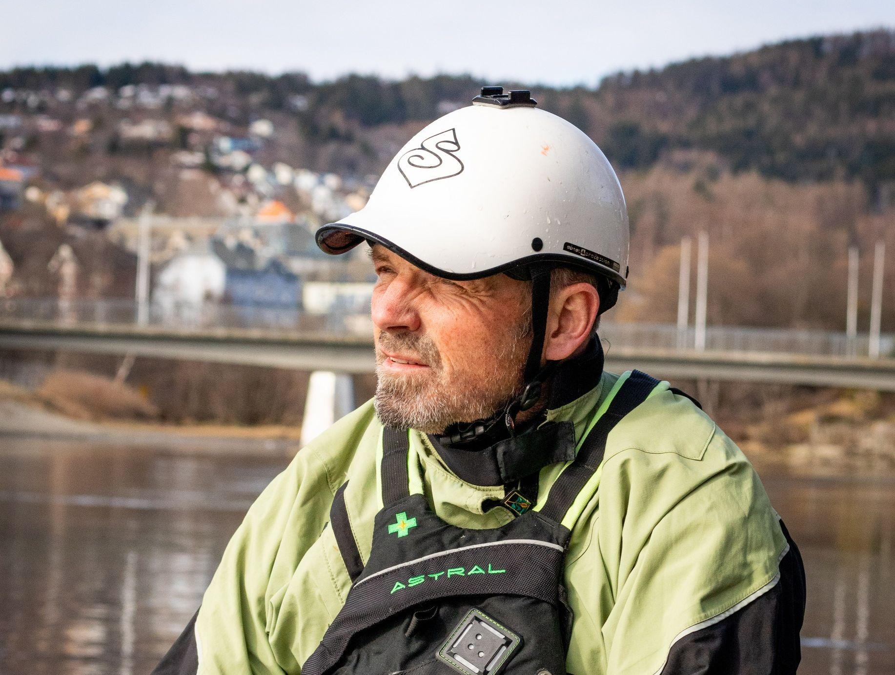 SVØMMEOPPLÆRING: Førstelektor i kroppsøving og idrettsfag ved NTNU, Egil Galan Gjølme.