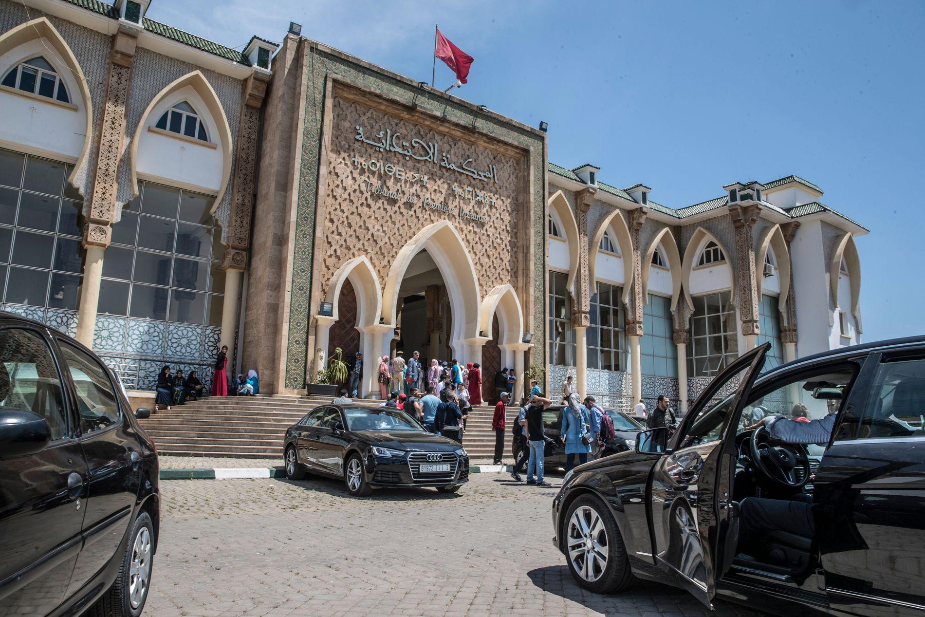DOMSTOLEN: Her i denne rettsbygningen holdes høringene etter Marokko-drapene.