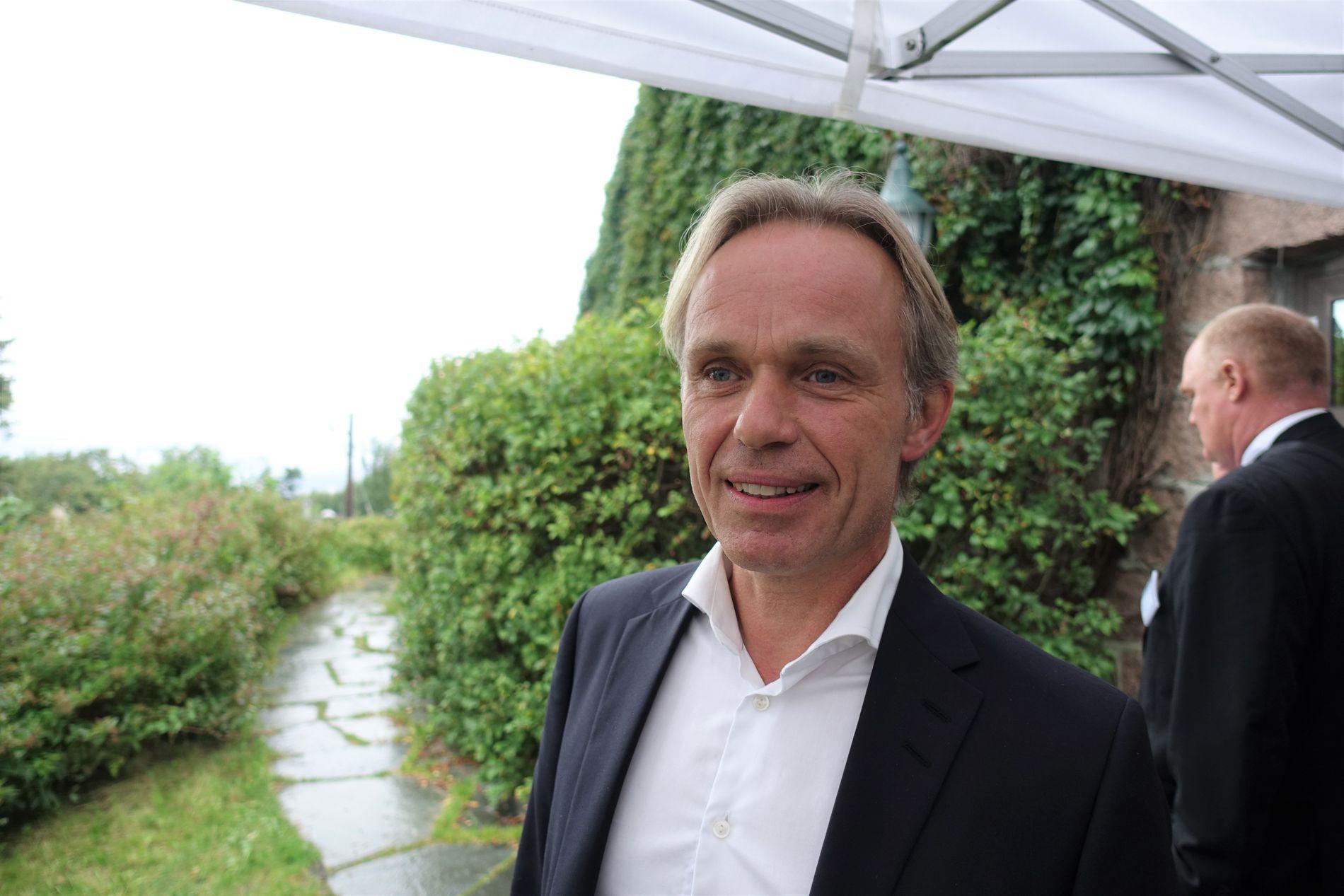 KREVENDE TIDER: Det er fortsatt krevende for deler av oljeindustrien, ifølge Jostein Alendal, daglig leder i Reach Subsea. Han tror at det vil komme en ny oppgang.