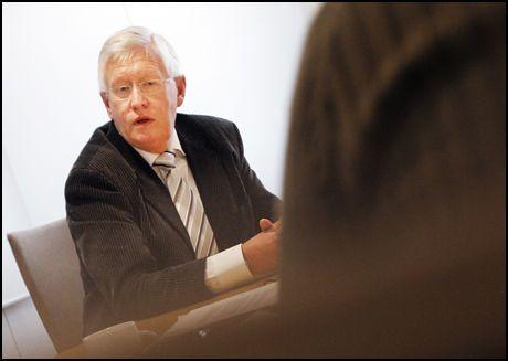 PENGEMANGEL: Direktør i Kirkerådet, Jens Petter Johnsen, sier til Dagsavisen at pengemangel er årsaken til at det ikke er ryddet opp i medlemsregisteret. Foto: SCANPIX