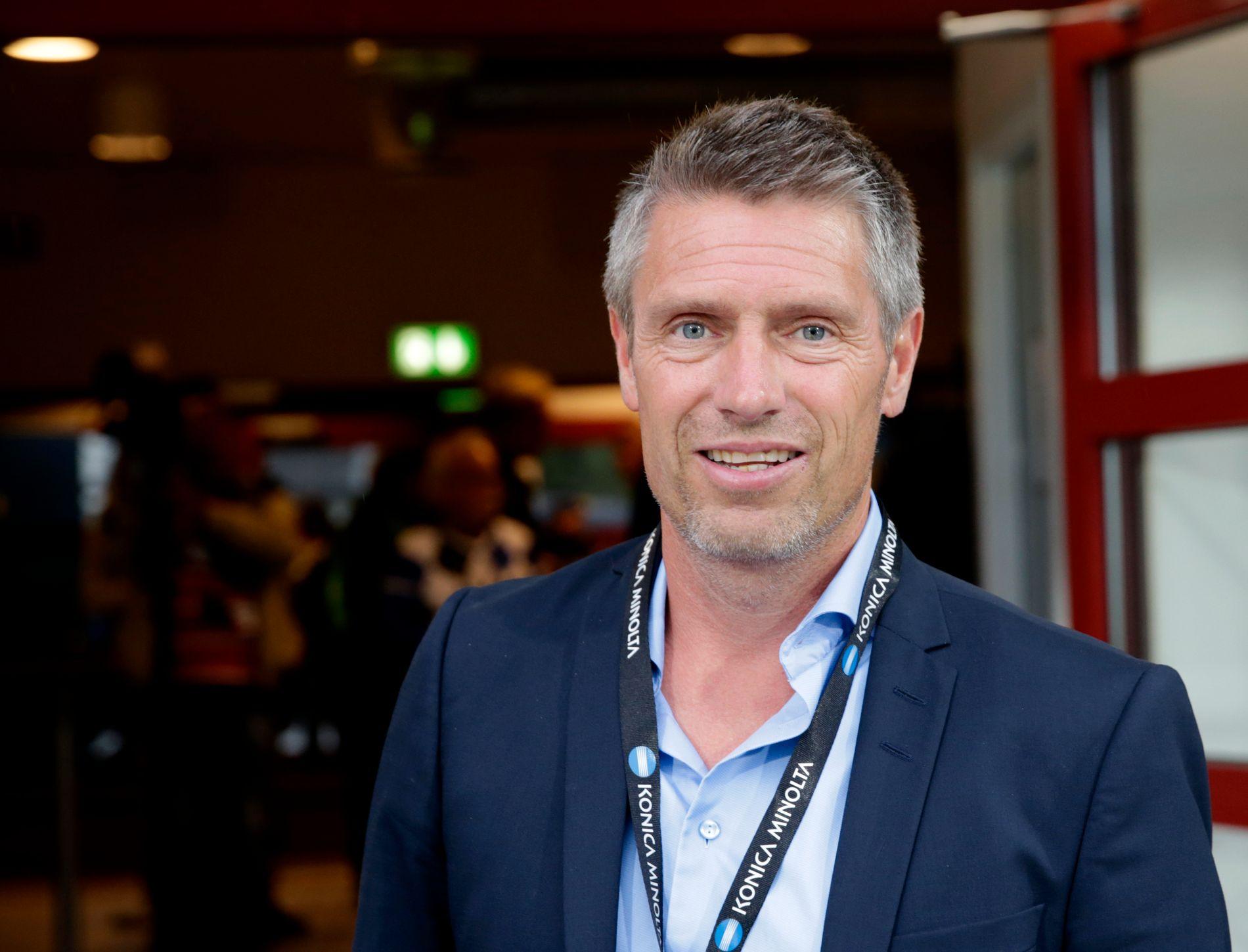 SARPSBORG-TOPP: Thomas Berntsen setter pris på den tidlige seriestarten.