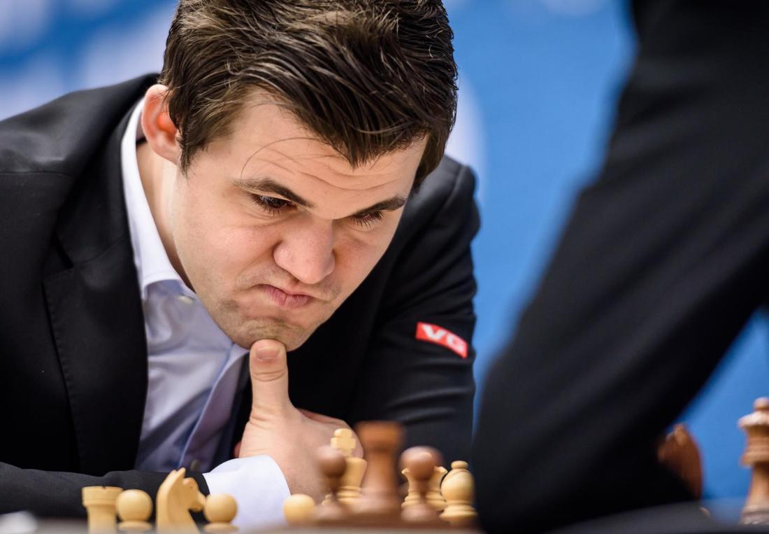 «HARMONI»: Magnus Carlsen sier at han fant tilbake til harmonien i spillet sitt i løpet av turneringen i Wijk aan Zee.
