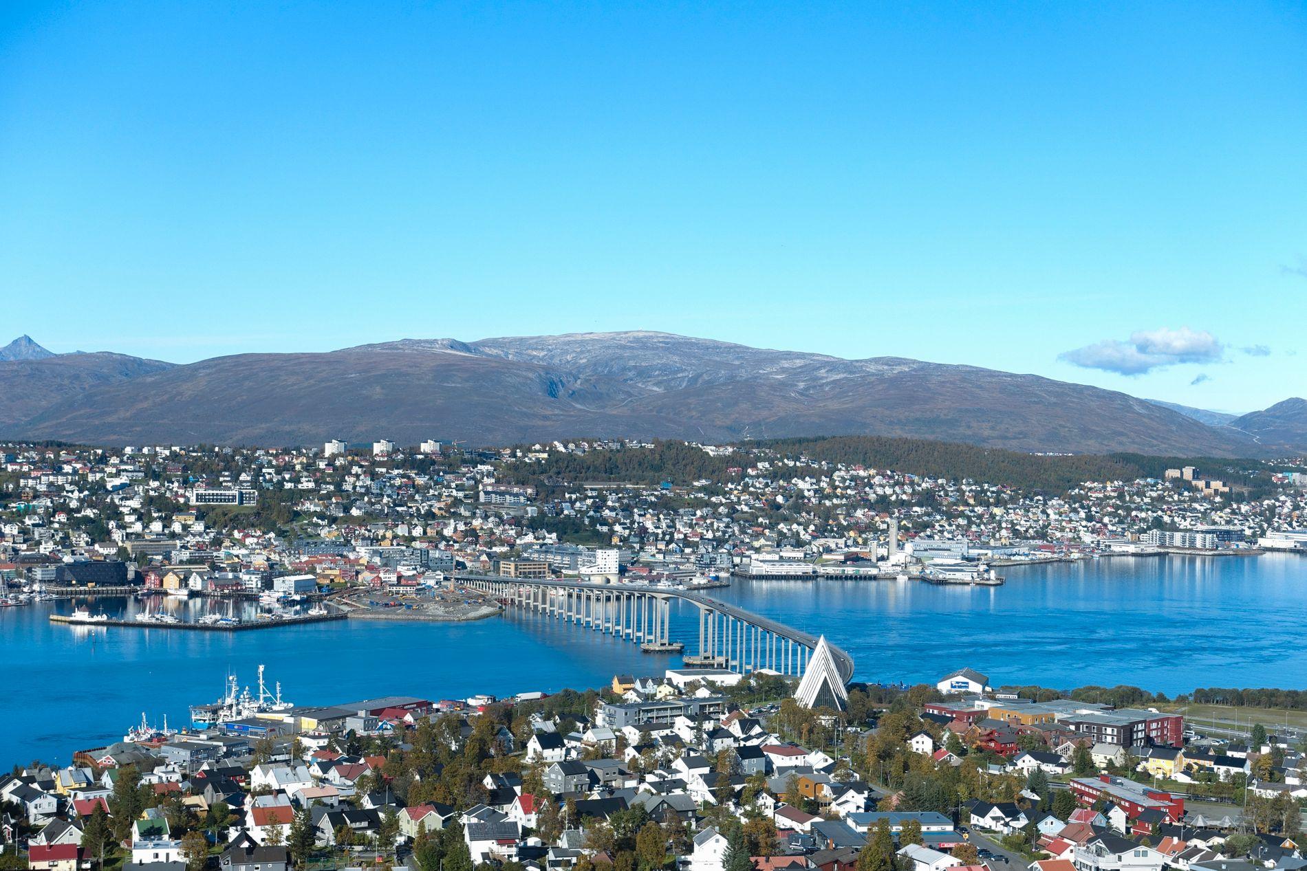 BOMPENGEBY: Også i Tromsø gjør en bompengeliste det godt.