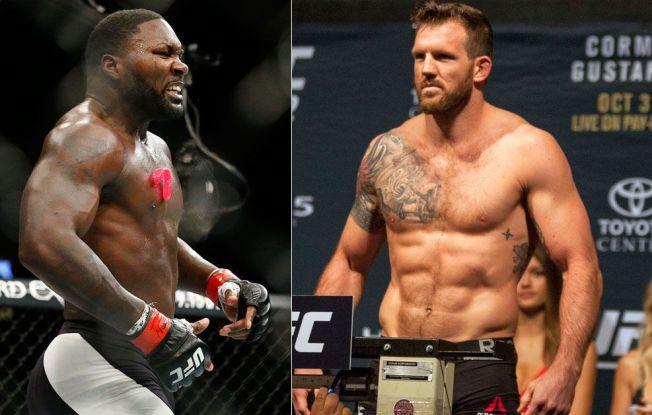 RUTINERTE PROFILER: Anthony Johnson jubler etter seiren mot Jimi Manuwa i september, og i natt er det formsterke Ryan Bader som skal prøve seg mot knockoutfighteren.