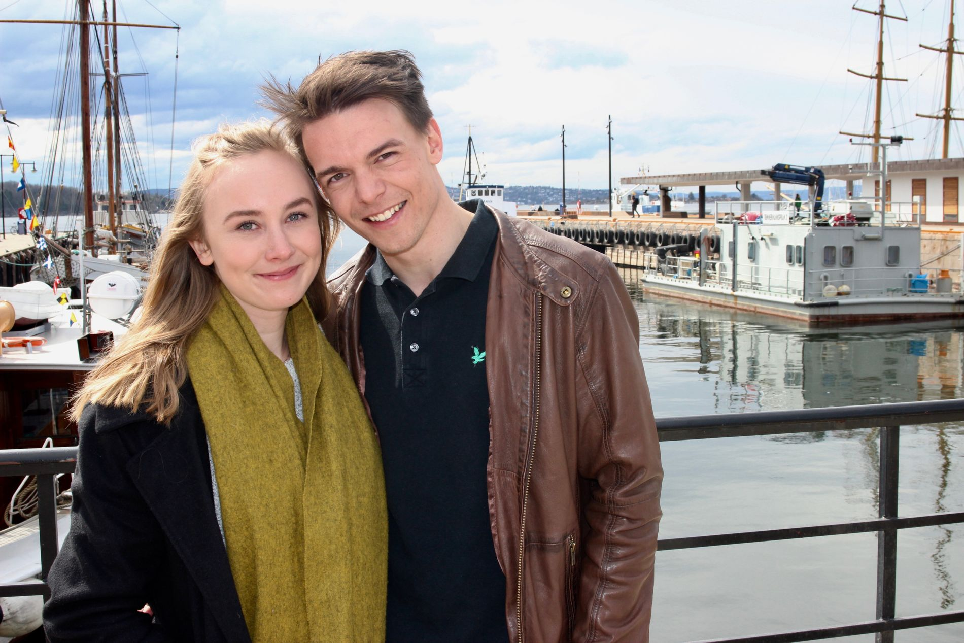 FANT HVERANDRE: Simen Gjølberg Johansen skulle egentlig jaktet kjærligheten på TV i høst. Så møtte han Rachel.