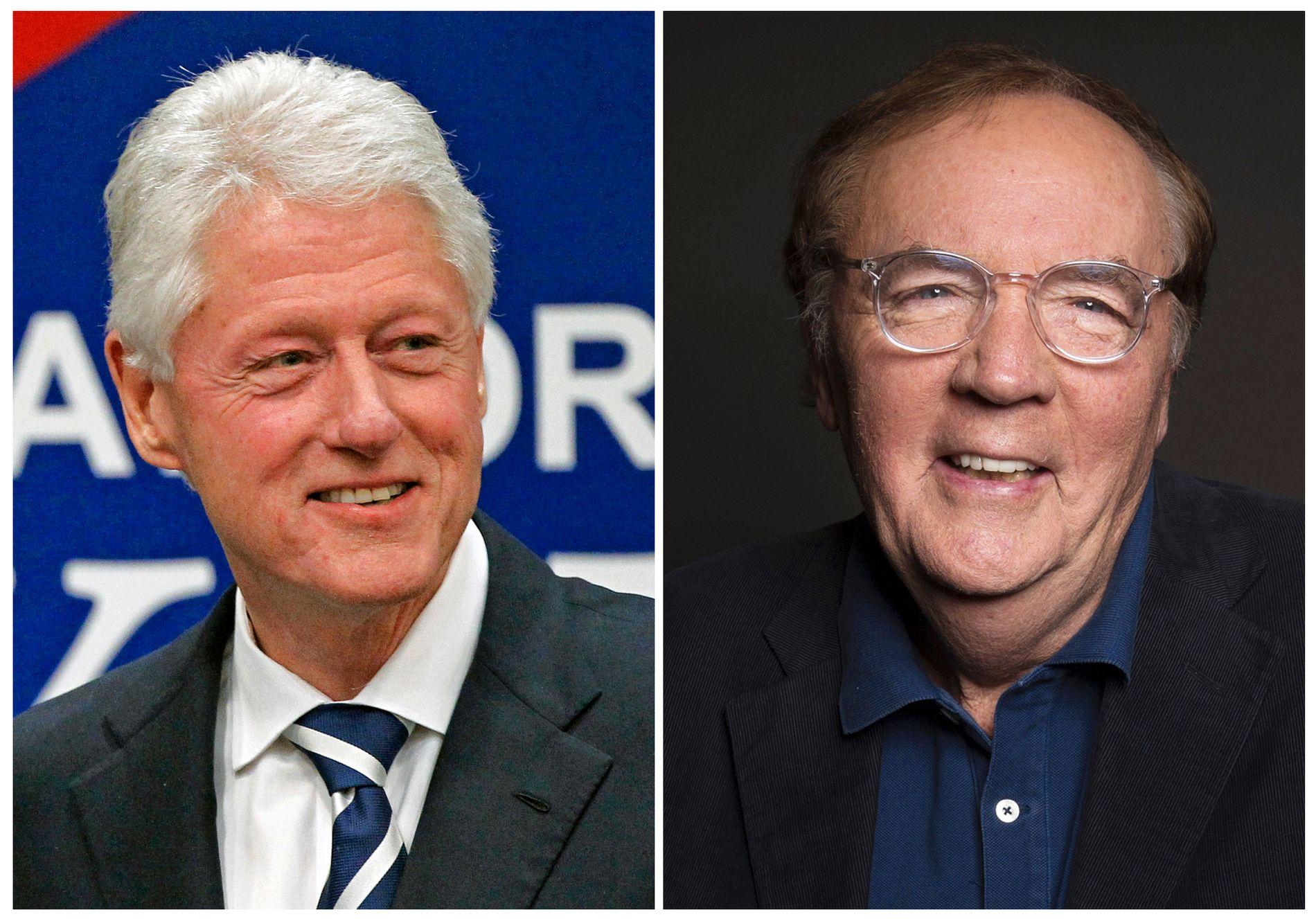KOLLEGER: Bill Clinton og James Patterson har gått i skriveboksen sammen.