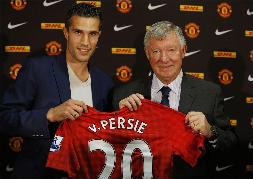NUMMER 20: Robin van Persie får drakt nummer 20 i Manchester United. Foto: Phil Noble