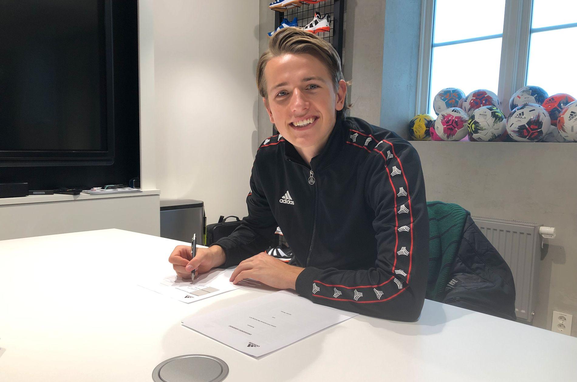 Sander Berge signerte rekordavtale med utstyrsgigant: – En
