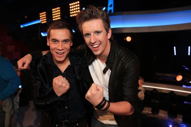 FINALISTER: Invar Olsen og Jørn Trollebø Kvalheim gikk forrige fredag til årets «Idol»-finale.