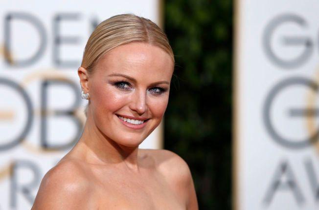 PÅ RØD LØPER: Malin Åkerman på Golden Globe-utdelingen i Beverly Hills i januar.