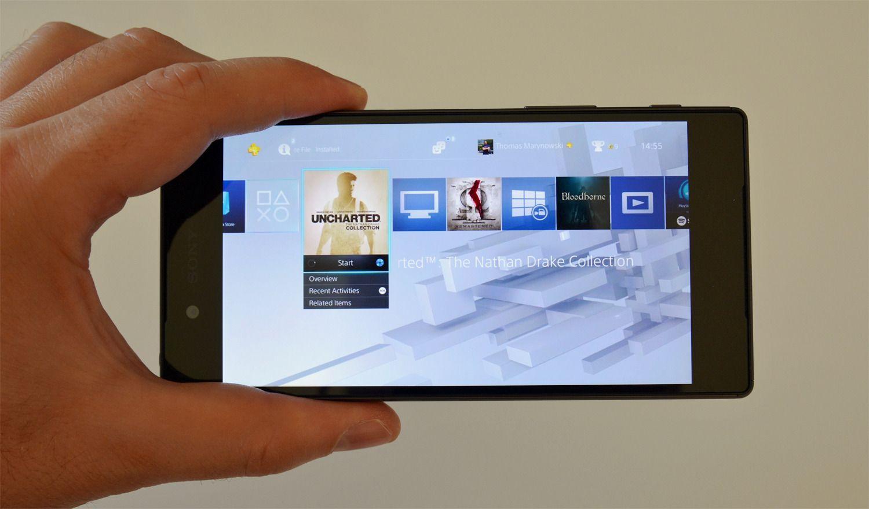 KAN LIKE MYE: Omtrent alt du kan gjøre på en PlayStation 4, kan du også gjøre via Xperia-mobilen.