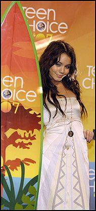 POPUÆR NYKOMMER: Vanessa Hudgens i «High School Musical 2» Foto: AP